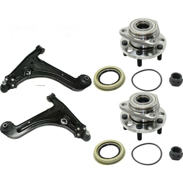 Control Arm Ball Joint Suspension Kit 4-PC Set of 4 Front Left-and-Right LH