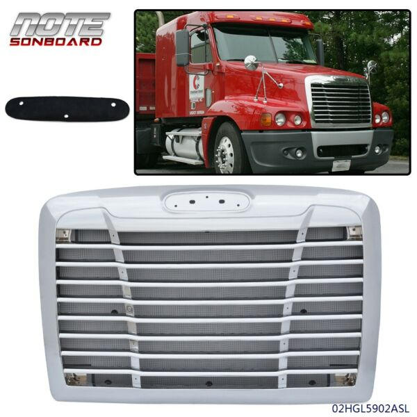 FIT FOR FREIGHTLINER CENTURY GRILLE CHROME WITH BUG SCREEN 2005 2011 A1716132001