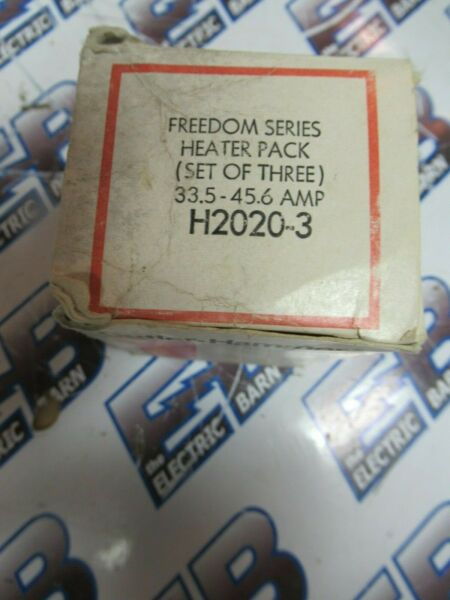 Cutler Hammer H2020-3 Freedom Series Heater Pack (1) BOX OF 3- NEW