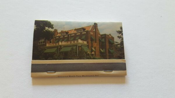 Matchbook Copeland Canvas Awnings Washington DC missing 1 match 40 strike P7