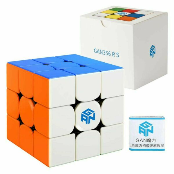 Gan 356 R S 3x3x3 Stickerless Speed Cube Magic Cube Puzzle Toys Ship from USA