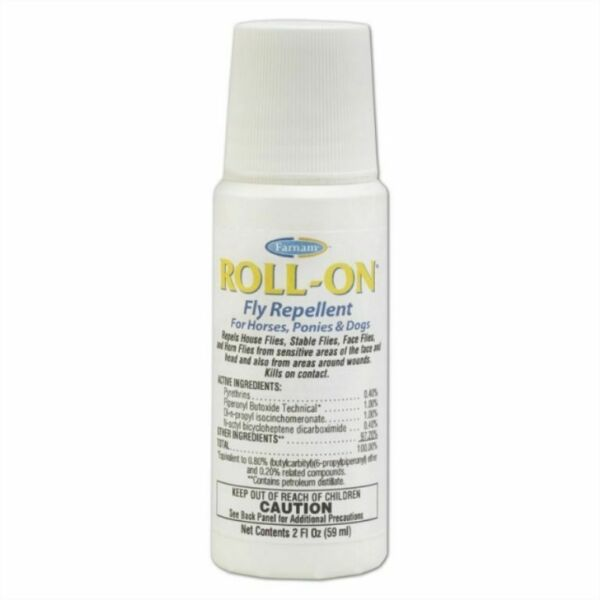 Roll On Fly Insect Spray Farnam Equine Dog Tick 2oz $10.58