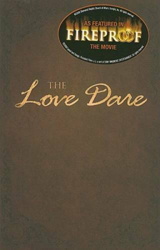 The Love Dare Paperback By Kendrick Stephen VERY GOOD