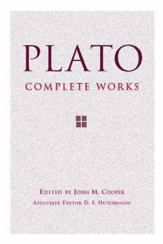 Plato: Complete Works Hardcover By Plato VERY GOOD