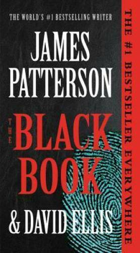 The Black Book Mass Market Paperback By Patterson James GOOD