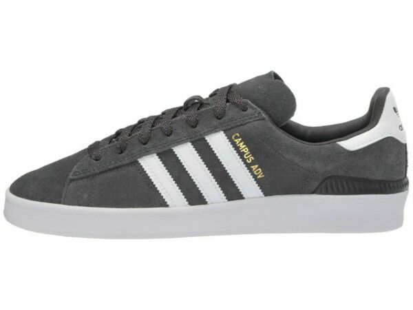 adidas Skateboarding CAMPUS ADV Grey Men's Lace Up Sneakers EF8475