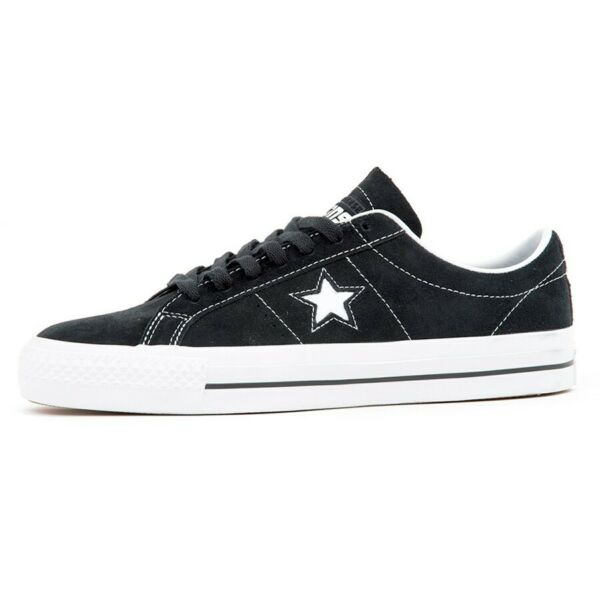 Converse Cons One Star PRO OX Low Top Shoes (Black/White/White) 159579C $75