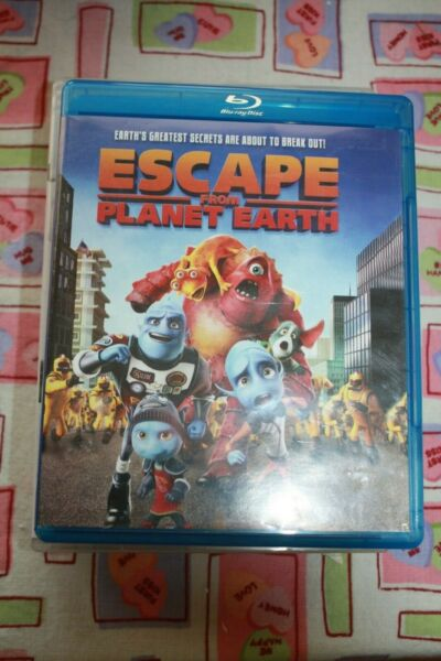 ESCAPE FROM PLANET EARTH - 3D BLU-RAY DVD $12.99