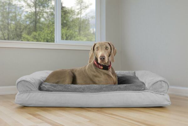 Big Dog Bed K9 Sleeping Sofa Pet Couch Large Warm Soft Cushion Puppy Jumbo XXL $83.22