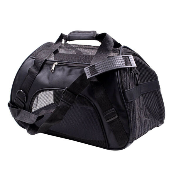 Pet Carrier Soft Sided Puppy Kitten Backpack Travel Dog Cat Bag Ship from US $14.96