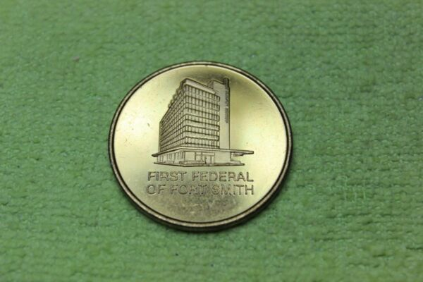 1970 TOKEN MEDAL FIRST FEDERAL OF FORT SMITH ARKANSAS 50th ANNIVERSARY
