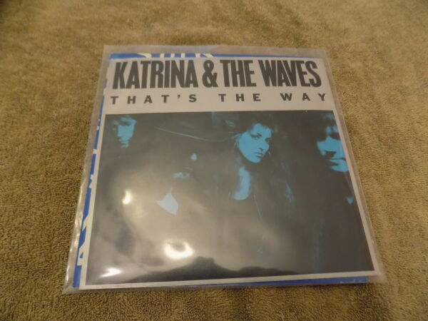 KATRINA amp; THE WAVES Thats The Way Love Calculator 7quot; 45 EX