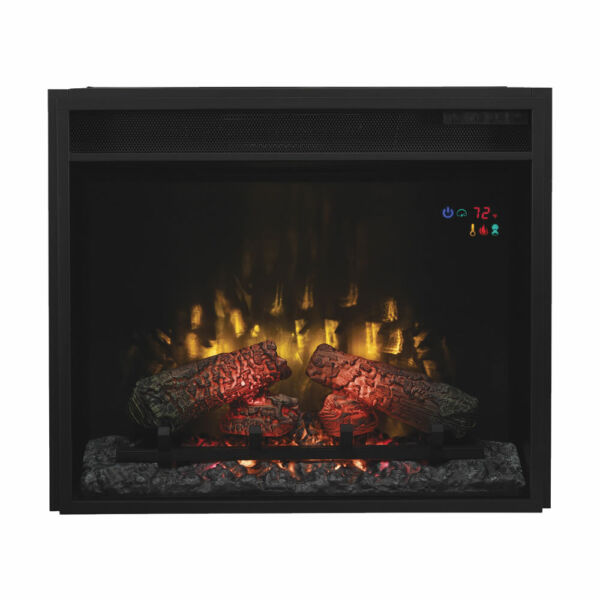 ClassicFlame 23 inch Electric Fireplace small insert # 23EF031GRP w Remote NEW