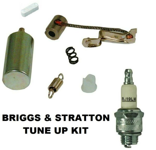 IGNITION TUNE UP KIT FOR BRIGGS amp; STRATTON 294628 2 8 HP POINTS CONDENSER $13.13