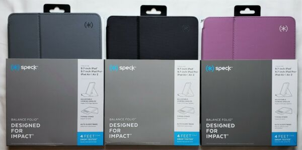 SPECK Balance Folio Case Cover for Apple iPad 9.7 5th Gen & 6th Gen PRO - NEW
