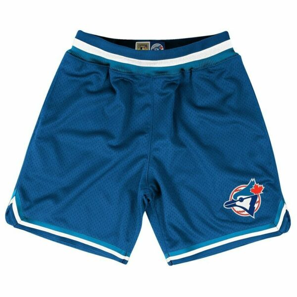 Mitchel Ness Cooperstown Authentic MLB TORONTO BLUE JAYS Shorts NWT Men#x27;s