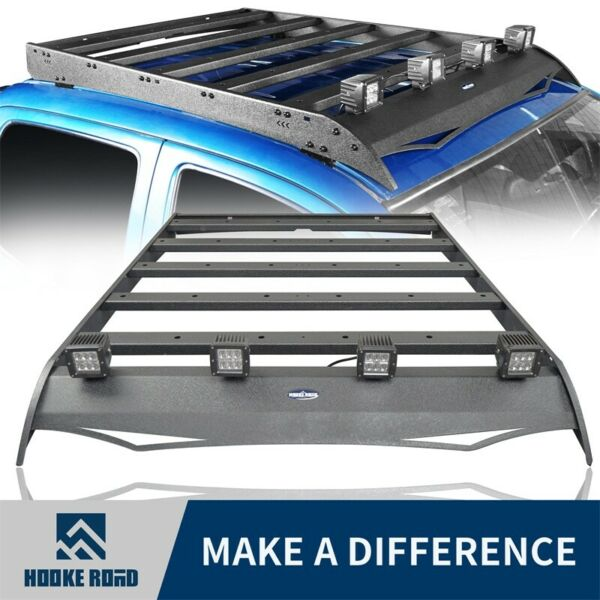 Hooke Road Black Roof Rack Luggage Carrier For Toyota Tacoma 2005 2020 4 Door $282.89