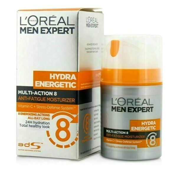 Loreal Men Expert Hydra Energetic 8 Action Brightening Cream 50 ml.