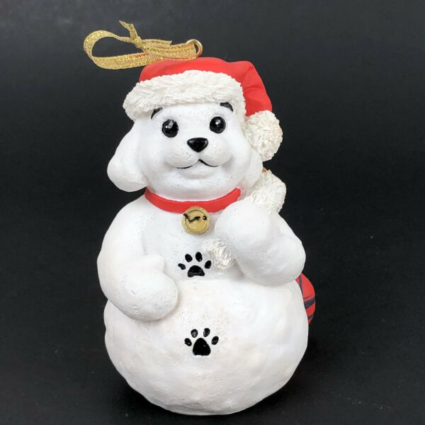 Petsmart Dog Christmas Ornament 2001 Limited Edition Legend Of Snow Puppy $16.38