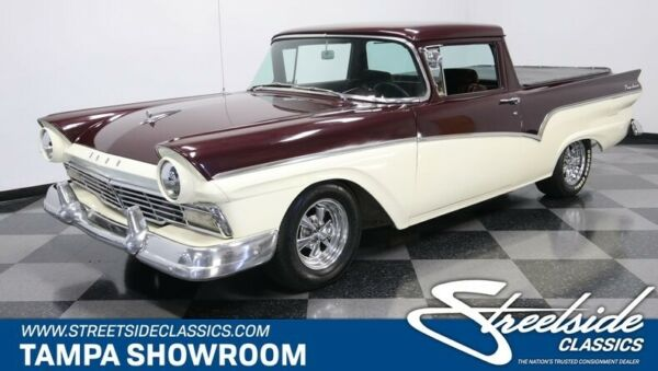 1957 Ford Ranchero  460 V8 C6 TRANSMISSION POWER STEERING FRONT DISC CUSTOM PAINT AND INTERIOR