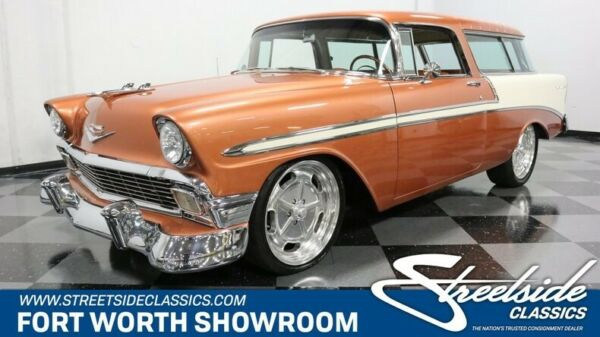 1956 Chevrolet Nomad  Beautifully Restored InsideOut! 350 V8 Auto AC PSB w Fr Disc Gr8 Colors!