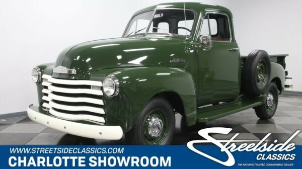 1953 Chevrolet Other Pickups 5 Window classic vintage chrome restored manual transmission sbc green tan vinyl interior