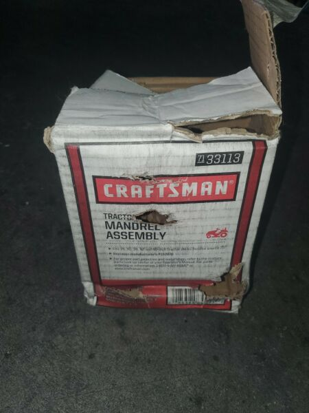 Craftsman Tractor Mandrel Assembly 71 33113 NEW IN BOX With Shelf Ware