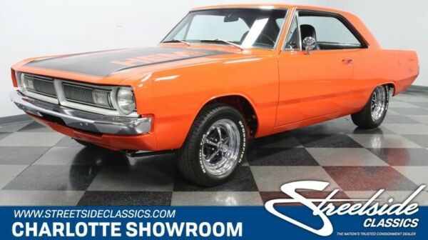 1970 Dodge Dart HEMI Restomod classic vintage chrome Hemi Orange black vinyl interior Fuel Injection Mopar