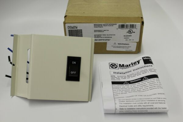 Marley DSW2W Baseboard Heater Double-Pole Disconnect Switch 20A
