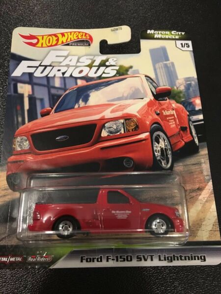 HOT WHEELS Fast and Furious Ford F-150 SVT Lightening