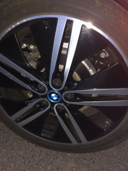 Bmw I3 Rims 20's Set Of 4 With Tires And TPMS Sensors Style 430 Wheel