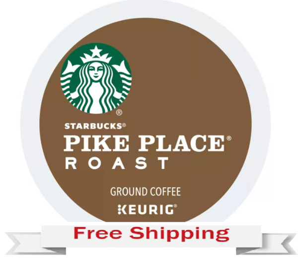 Keurig Starbucks Pike Place Coffee K cups 40 Count