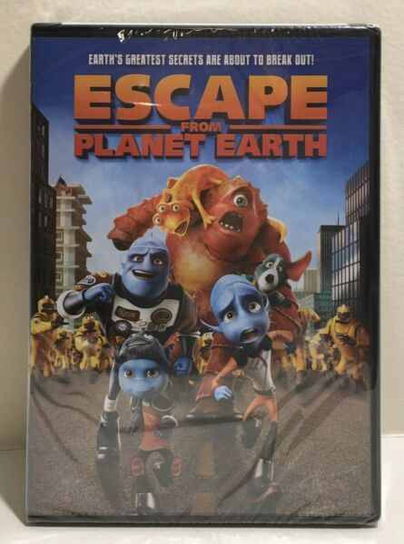 Escape From Planet Earth (DVD 2013) Sealed $2.99