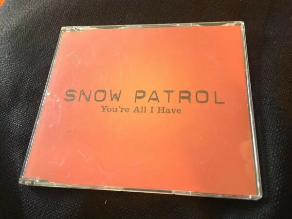 Rare Promotional CD Single Snow Patrol You're All I Have 2006