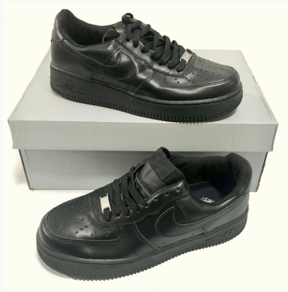 Nike Air Force One AF1 Uptowns '07 Low Top Classic Sneakers Sizes 7-13 Black