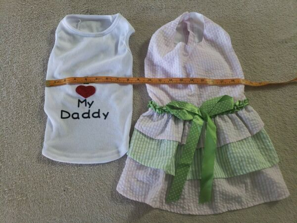Dog Clothes Small To Medium Dogs $19.99