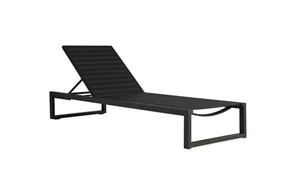 Design Within Reach DWR 2 Eos chaise lounges with covers outdoor furniture set