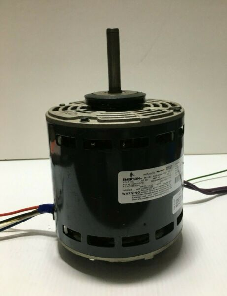 EMERSON K55HXNNZ 7057 Furnace Blower Motor 3 4HP 1075RPM 5SPD 115V used MB87 $115.00