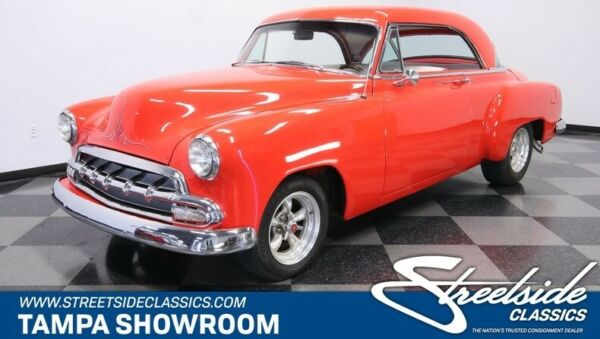1952 Chevrolet Bel Air150210 Restomod GM CRATE 350 V8 TH350 PS PB COLD R-134A AC FRONT DISC NICE INSIDE