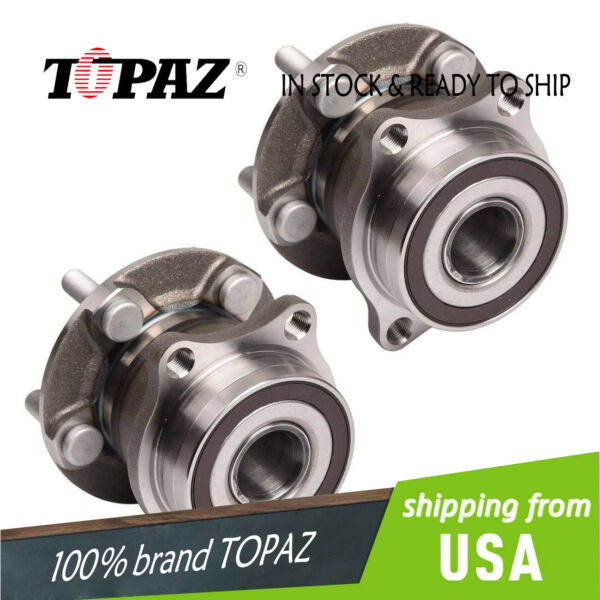 New For Subaru Pair Rear Wheel Bearing Hub Forester Legacy Outback 2PCS $52.79