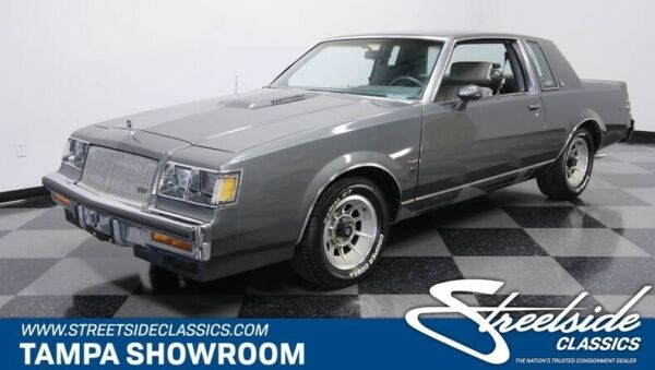 1987 Buick Regal Turbo 14K ACT MILES 3.8 V6 TURBO 4 SPEED OVERDRIVE ORIGINAL COLORS 4268 PRODUCED