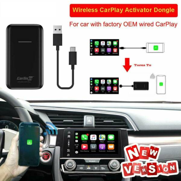 For Carlinkit V2.0 Upgrade Wireless CarPlay Activator Car With OEM Wired CarPlay