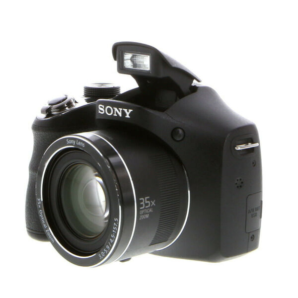SONY CYBER-SHOT DSC-H300 DIGITAL CAMERA BLACK (REQUIRES 4-AA) {20.1 MP}