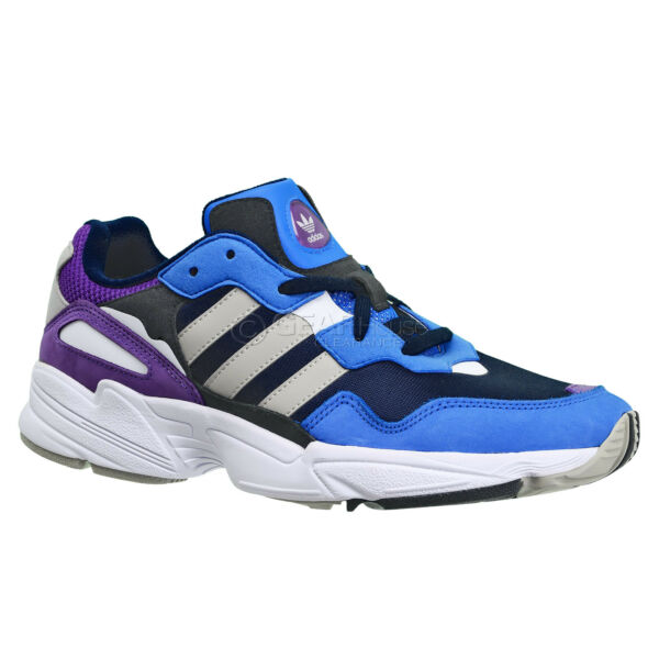 ADIDAS ORIGINALS YUNG-96 Mens Shoes Retro Cross Trainers Blue Purple - Pick Size