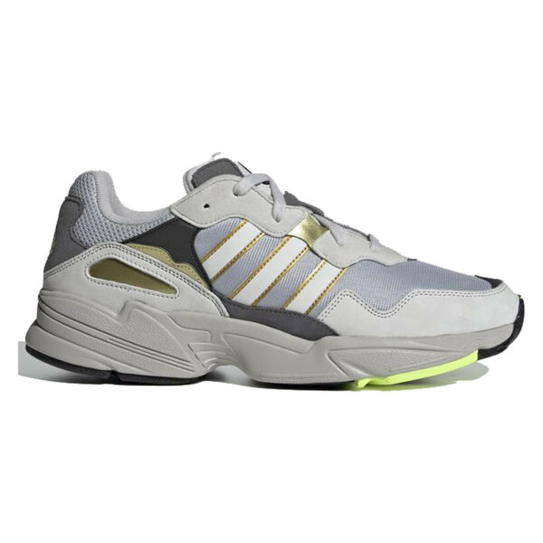 ADIDAS ORIGINALS YUNG-96 Mens Shoes Retro Cross Trainers Gray Gold - Pick Size