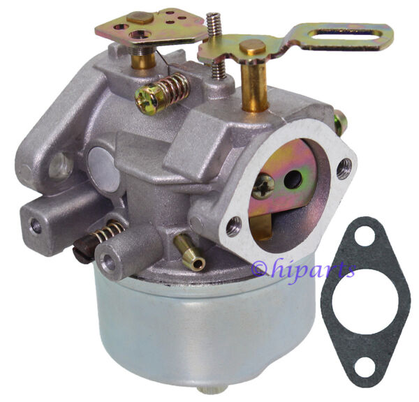 Carburetor Carb for Tecumseh Engine Snow Blower Craftsman Toro Troybilt W Gasket