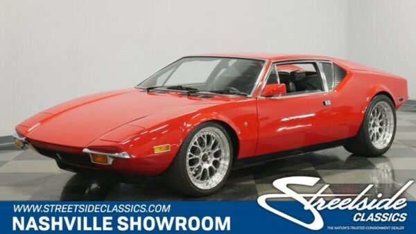 1972 De Tomaso Other  Classic Italian looks with American muscle Ford V8 Detomaso Pantera
