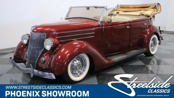 1936 Ford Deluxe Phaeton FUEL-INJECTED ZZ4 CRATE MOTOR AUTOMATIC RECENT TOP-NOTCH BUILD!! TONS OF DOCS!