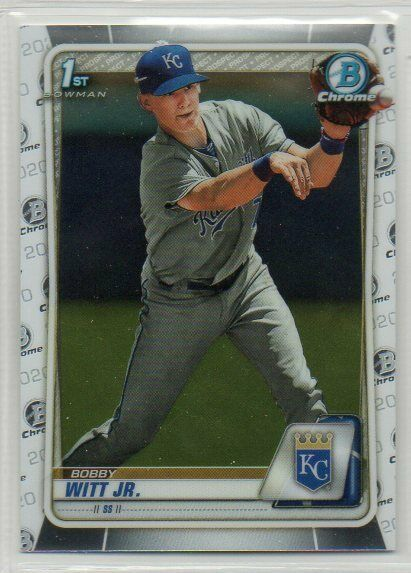 2020 Bowman Chrome Prospect Pick Your Card Free Shipping Quantity Available