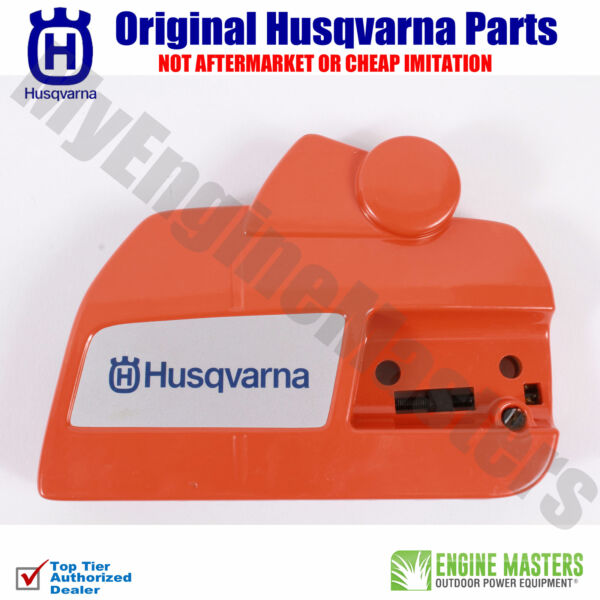 OEM Husqvarna 537286301 Clutch Cover With Chainbrake for Rancher 455 460